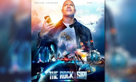 Siri and 'The Rock' Co-Star in Quirky Apple Film