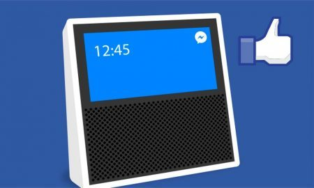 "Facebook Rumored to Develop Its Own 'Smart Speaker' with 15"" Touchscreen"