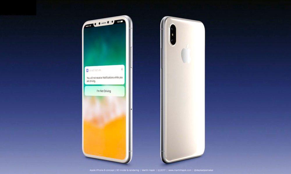 iPhone 8 Concept White