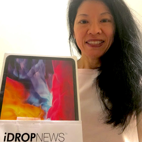Nancy H iDrop News iPad Pro Giveaway Winner June 2020