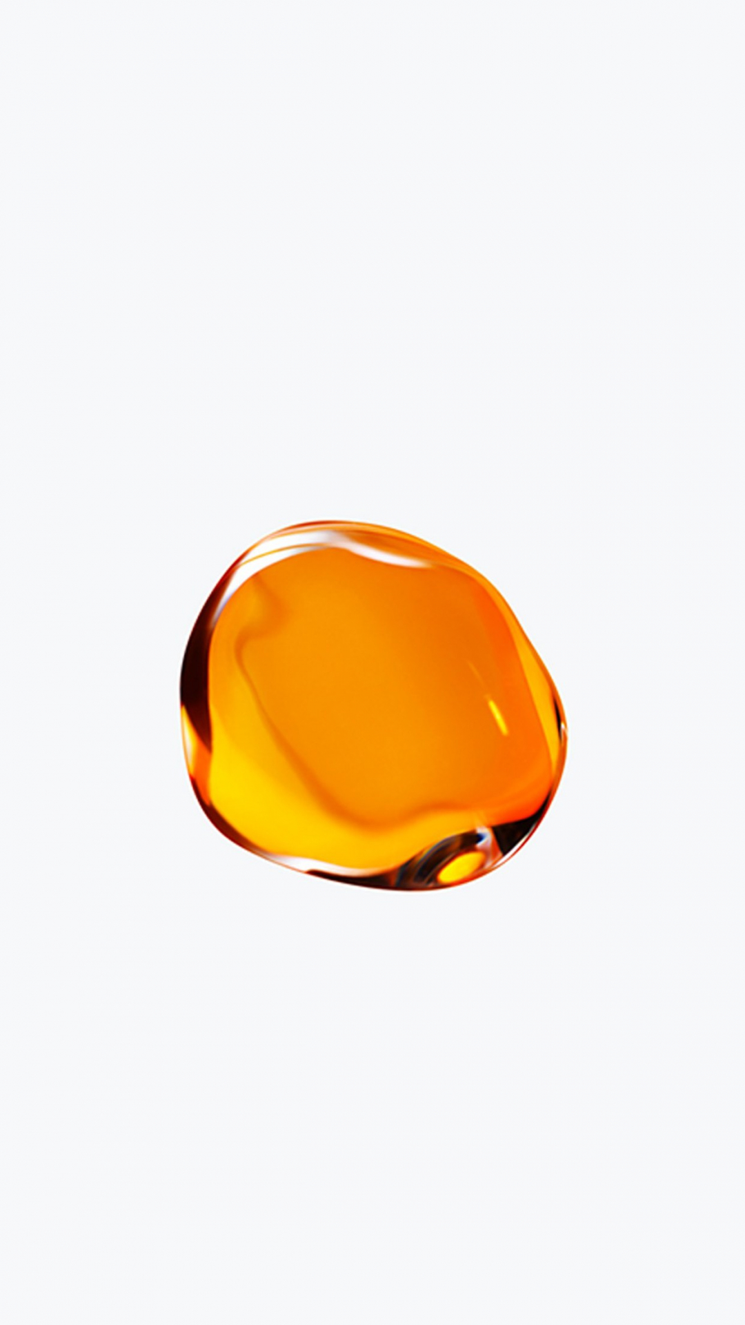 Liquid Amber iPhone 8 Wallpaper