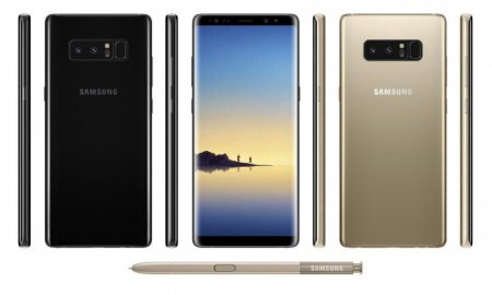 Samsung Galaxy Note 8 Revealed in Leaked Press Images