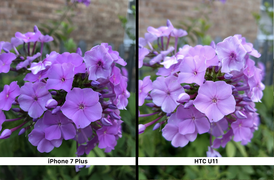 iPhone 7 Plus vs HTC U11