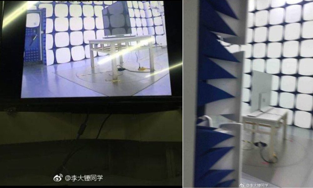 Images of an Apple-made TV set have surfaced on social media