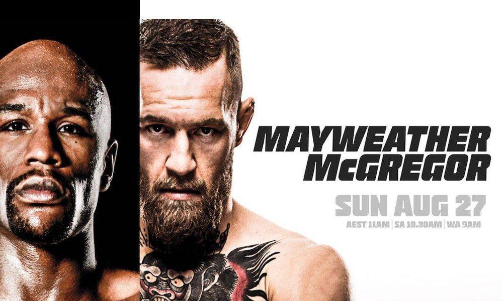 mayweather vs mcgregor apple tv