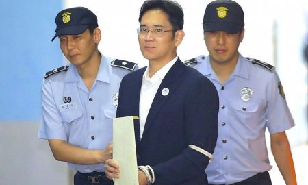 Samsung Chairman Sentenced to Five Years in Prison