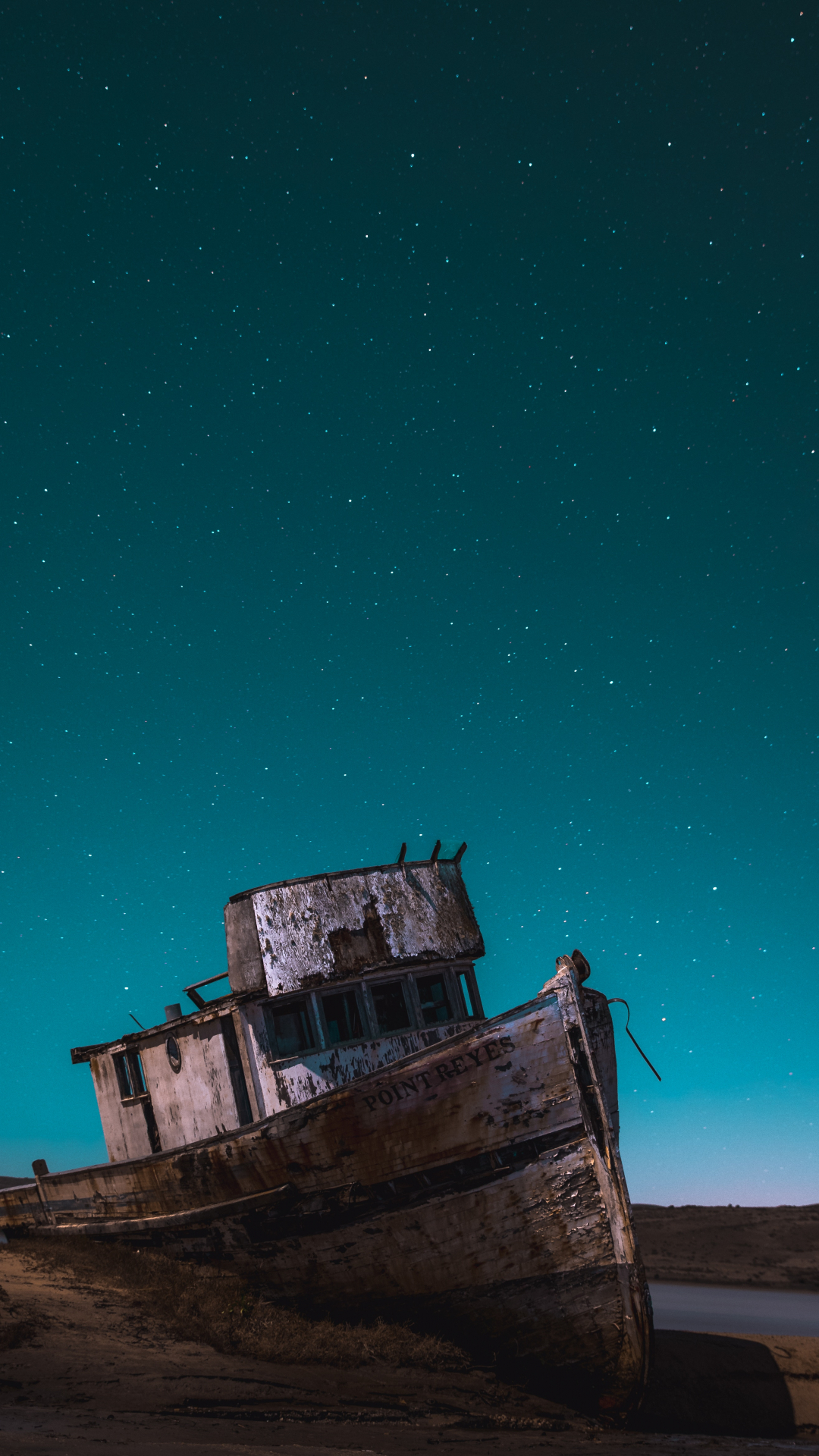 Ghost Ship iPhone Wallpaper