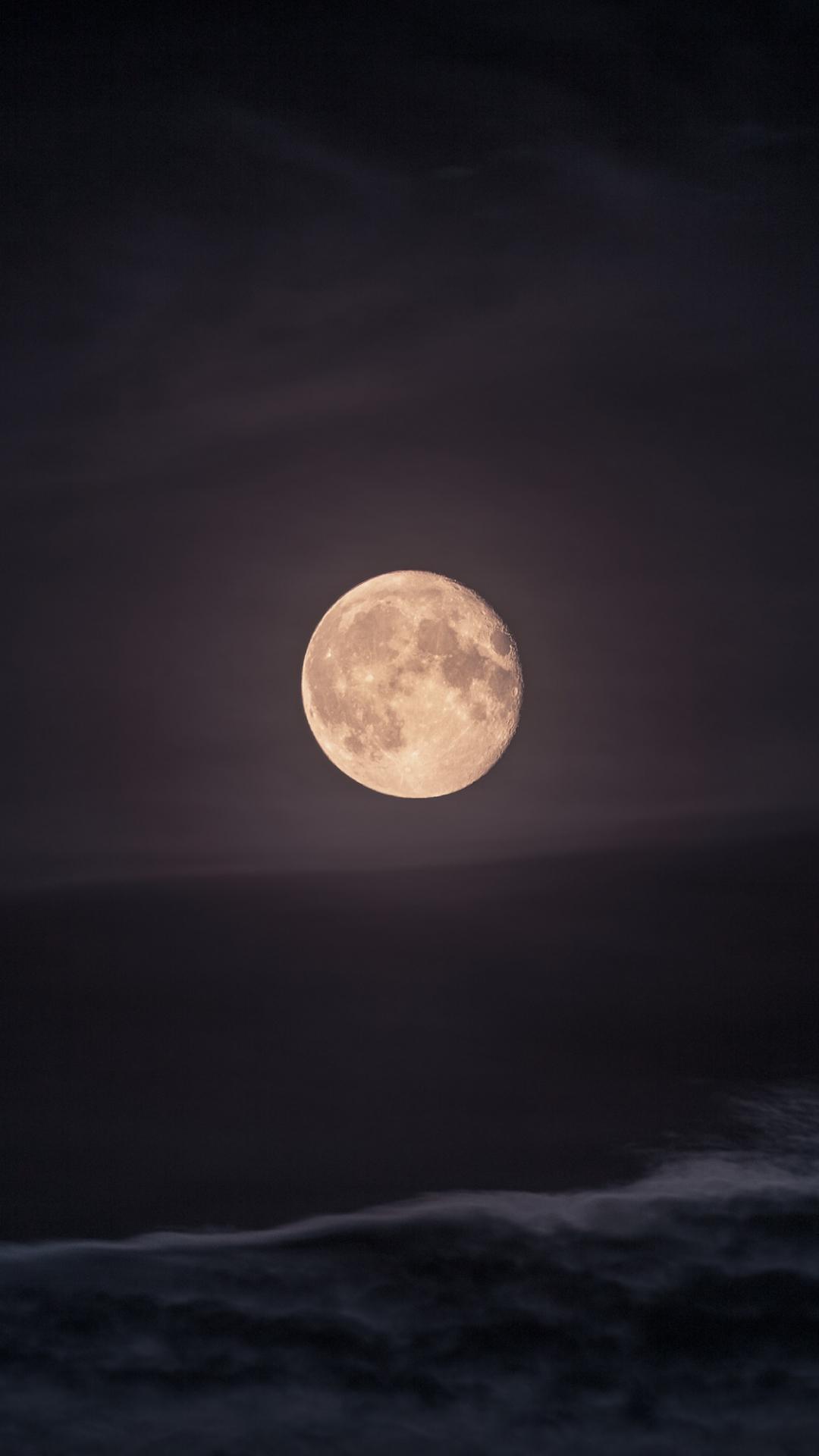 Moon, Full Moon iPhone Wallpaper
