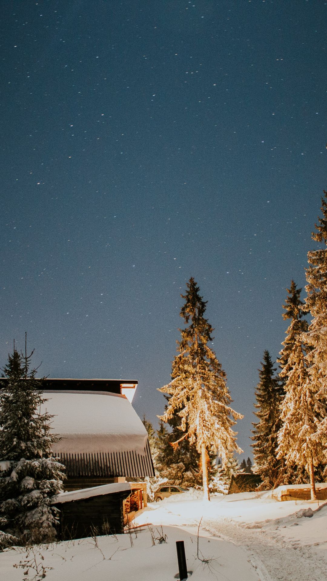 Cabin In The Wilderness Iphone Wallpaper Idrop News