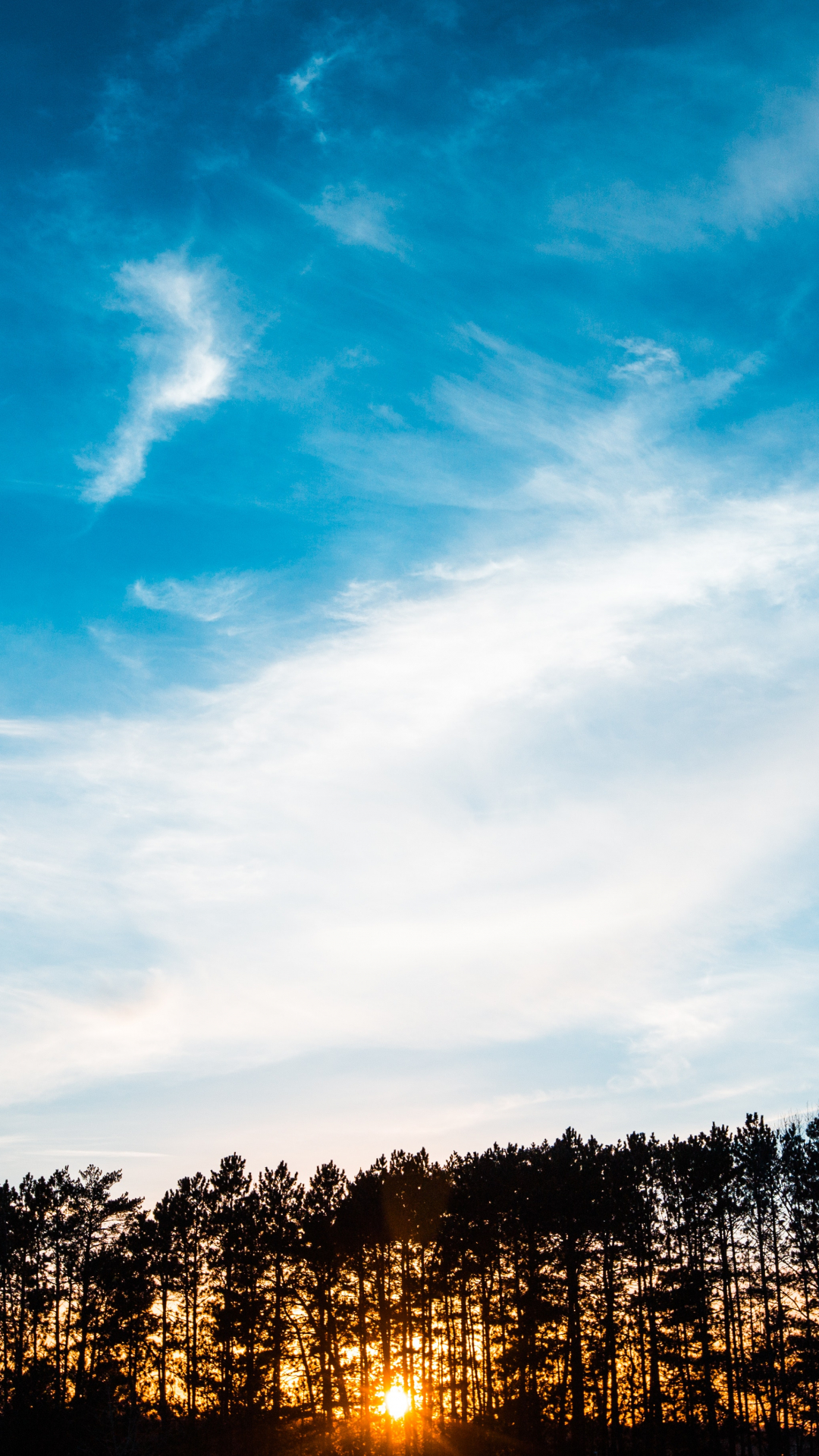 Sky, Sunset, Sunrise iPhone Wallpaper