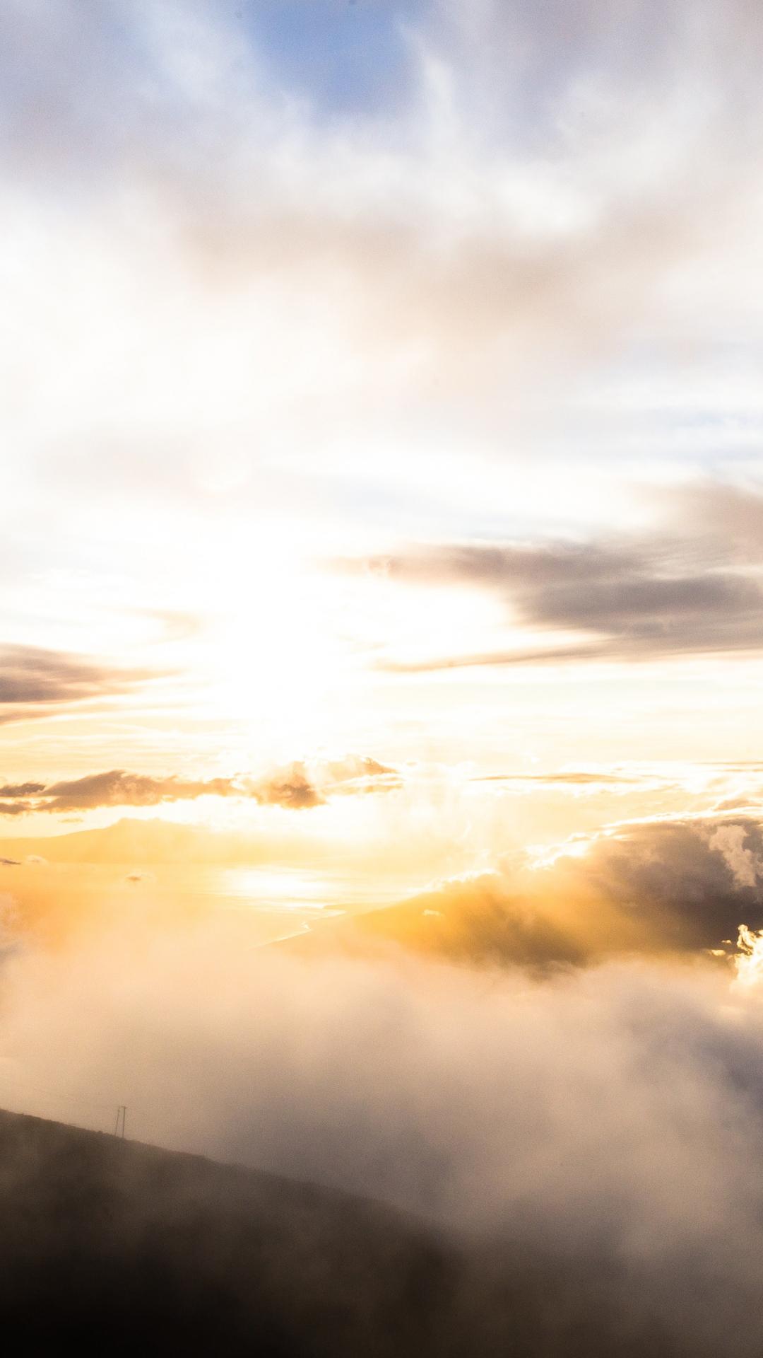 Cloud, Sunset, Sunrise iPhone Wallpaper