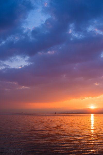 Sunrise Sky Sunset IPhone Wallpaper