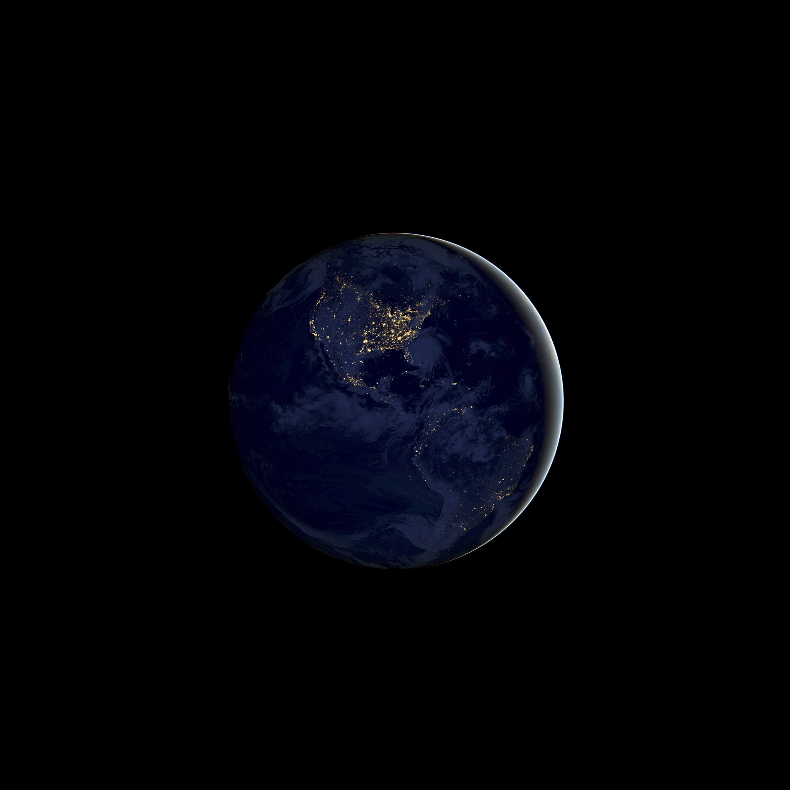 Iphone6 Wallpapers: Earth Night IPhone Wallpaper