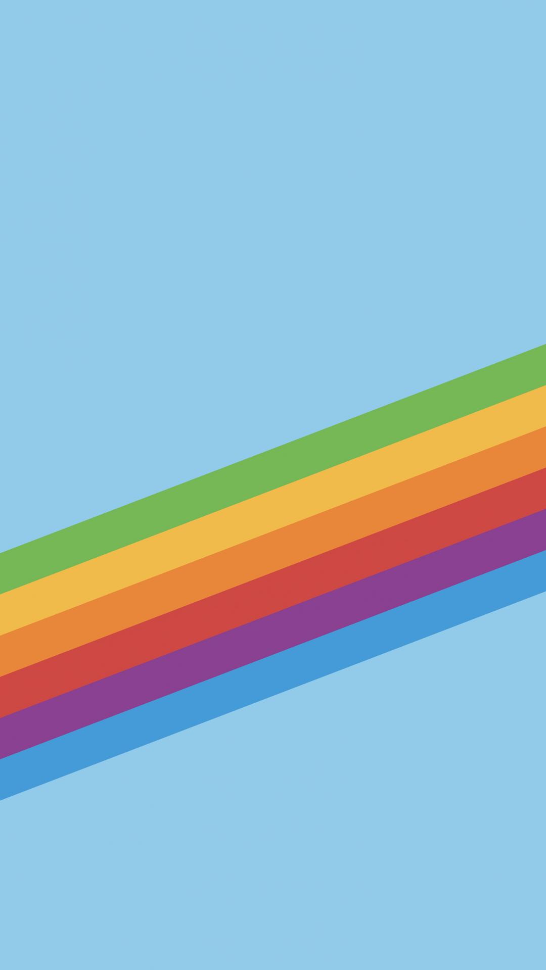 Heritage Stripe Blue iPhone Wallpaper