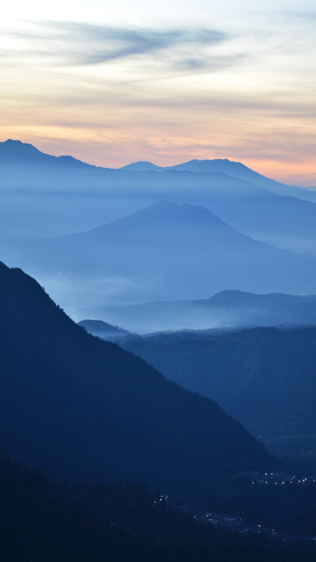 Sunrise At Mt. Bromo iPhone Wallpaper