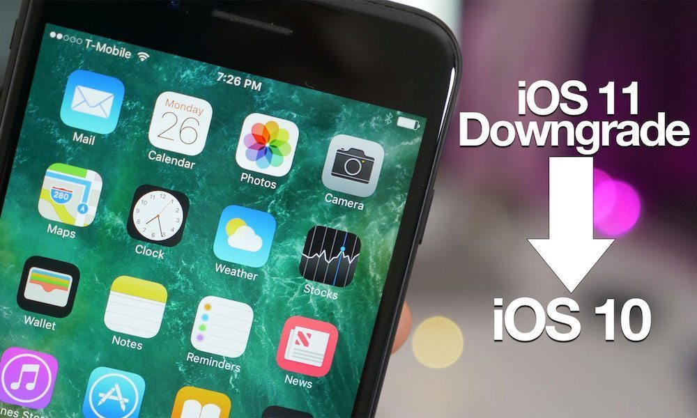 How to Downgrade iOS 11 to iOS 10.3.3 on iPhone, iPad, and iPod touch