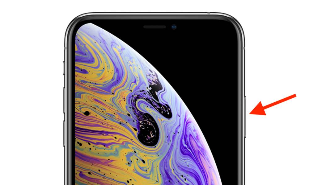 How To Reset Iphone Xs Side