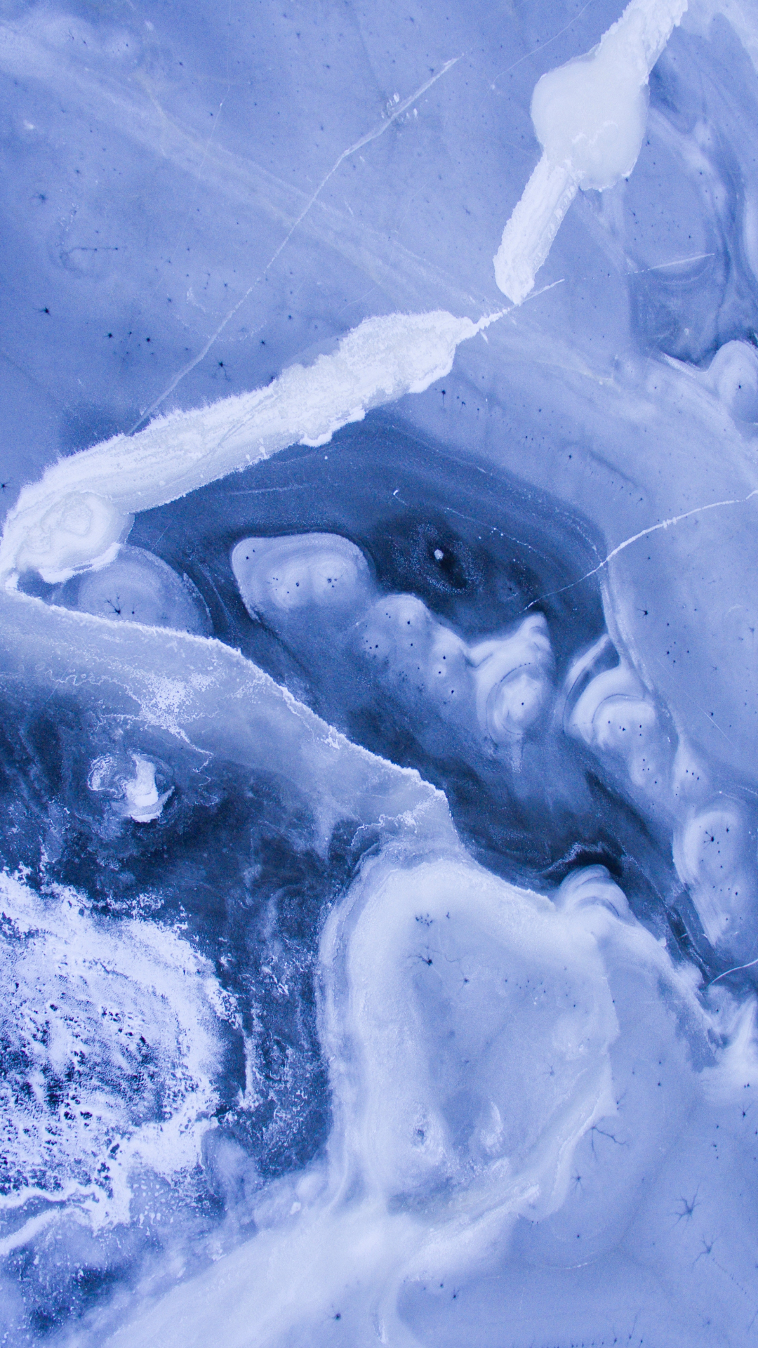 Frozen Lakes IPhone Wallpaper