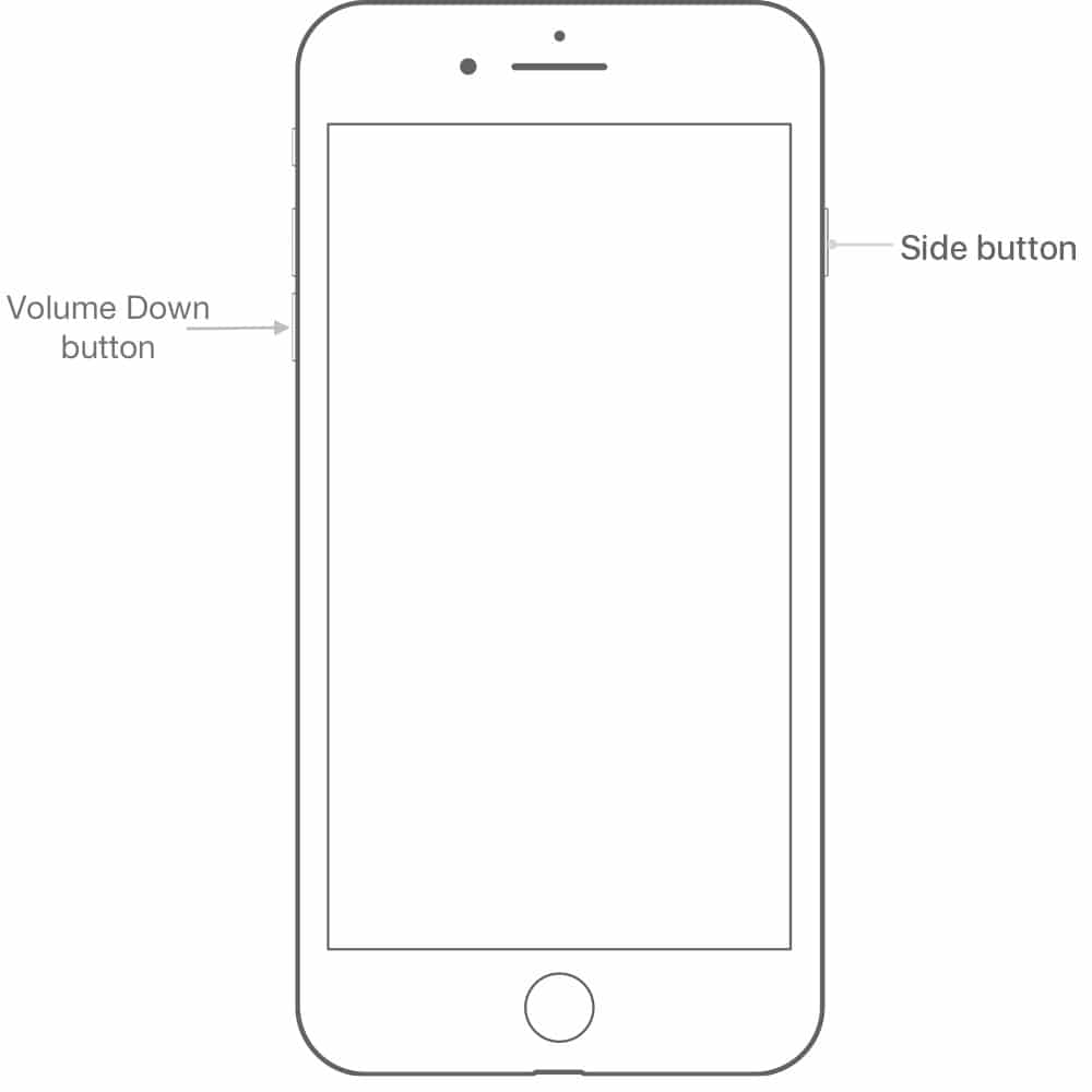 iphone dfu mode buttons
