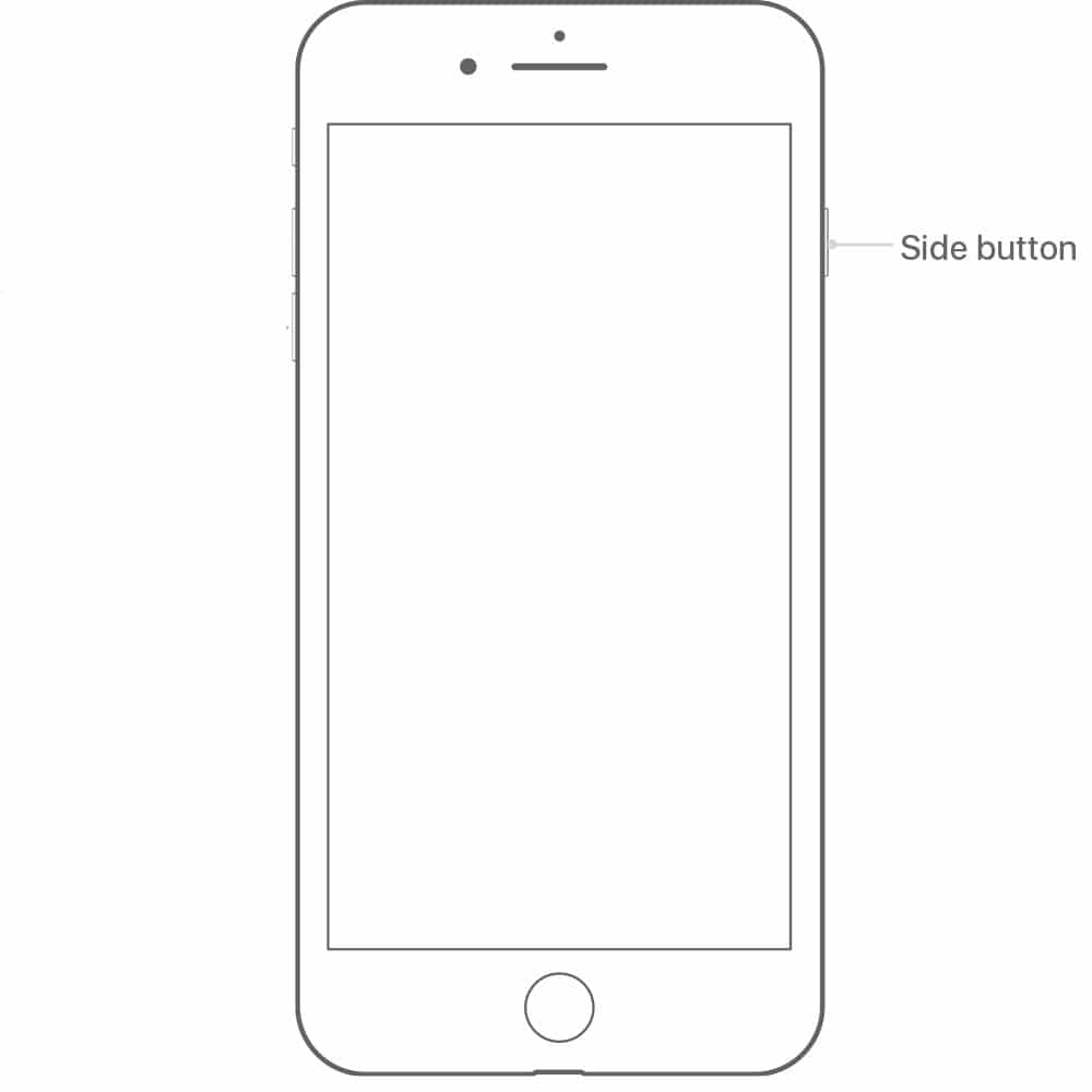 iphone 8 side button