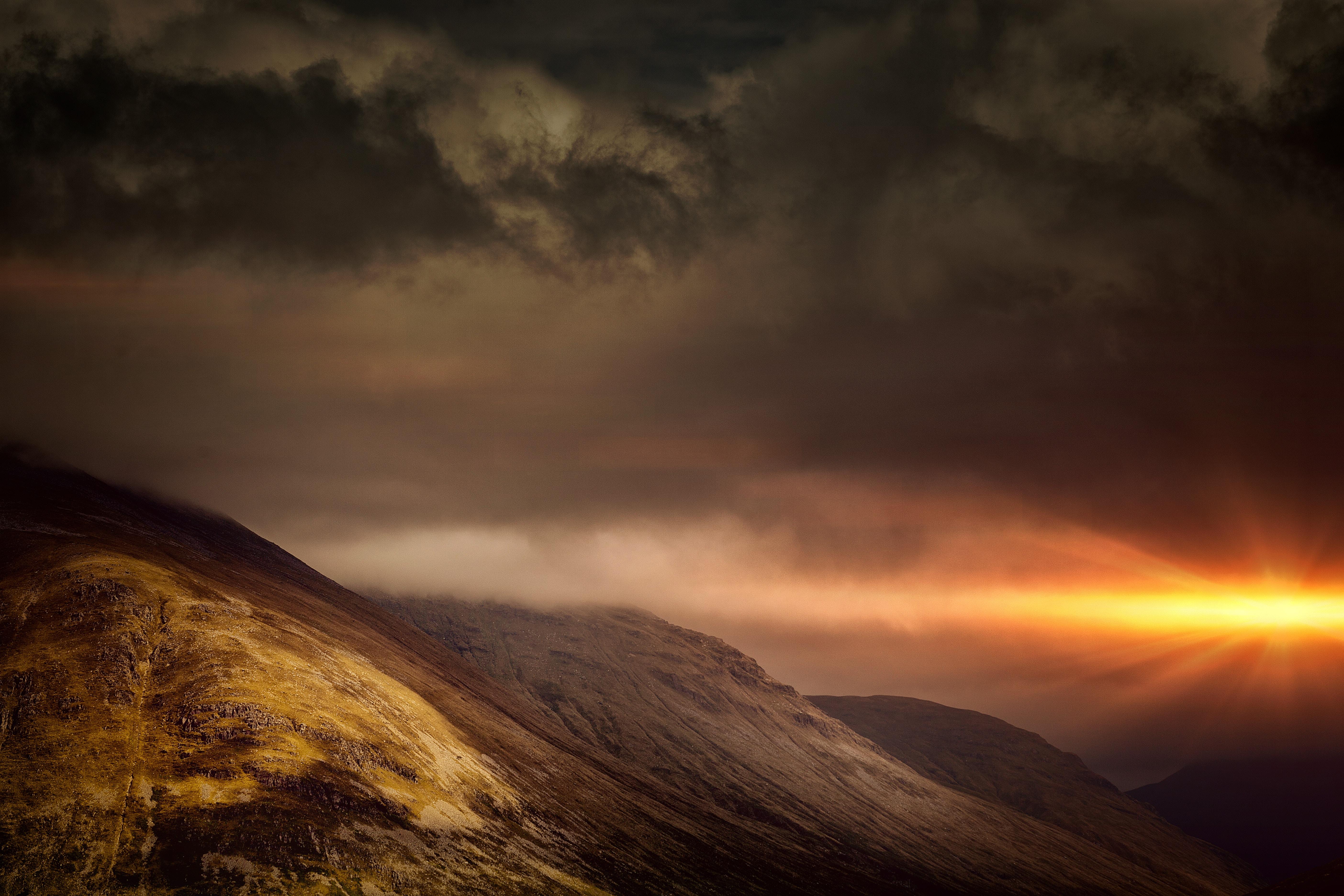 cloudy mountain phone wallpaper - photo #4