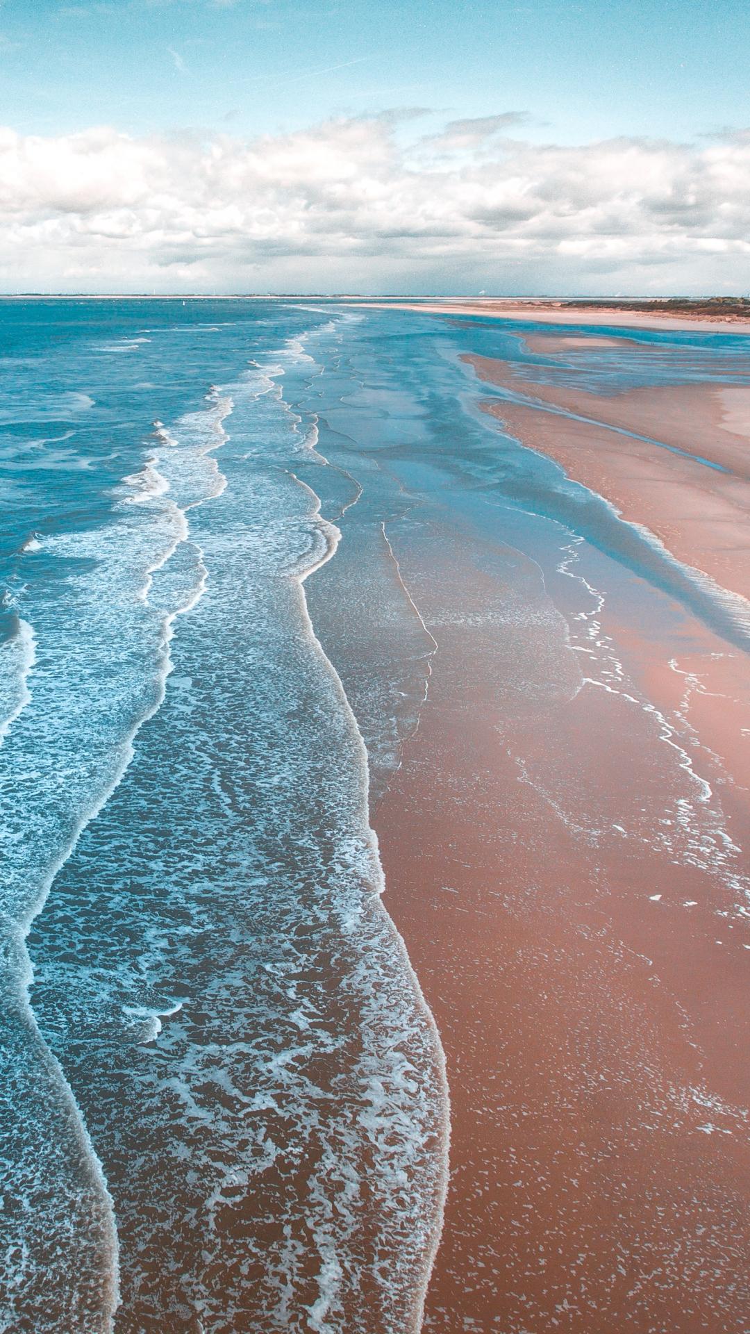 Coastline iPhone Wallpaper