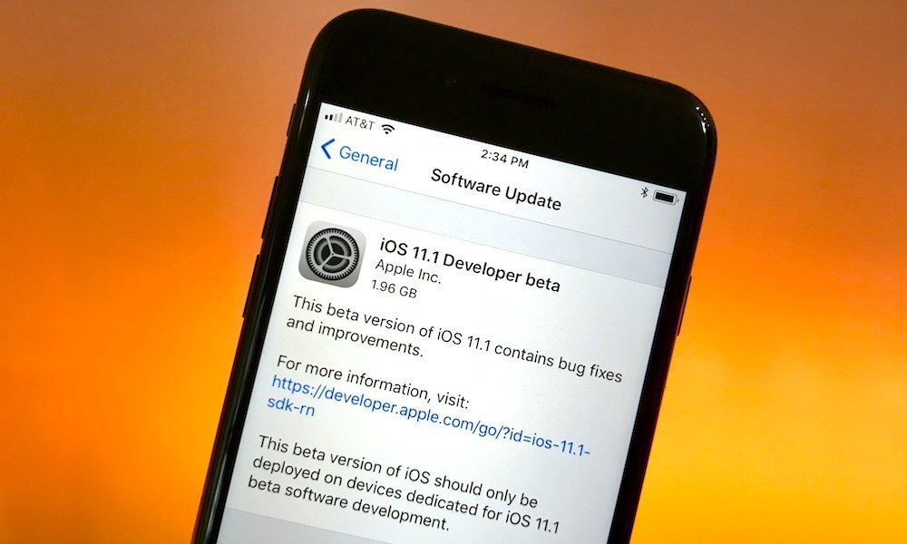 How to Download and Install iOS 11 1 Public Beta