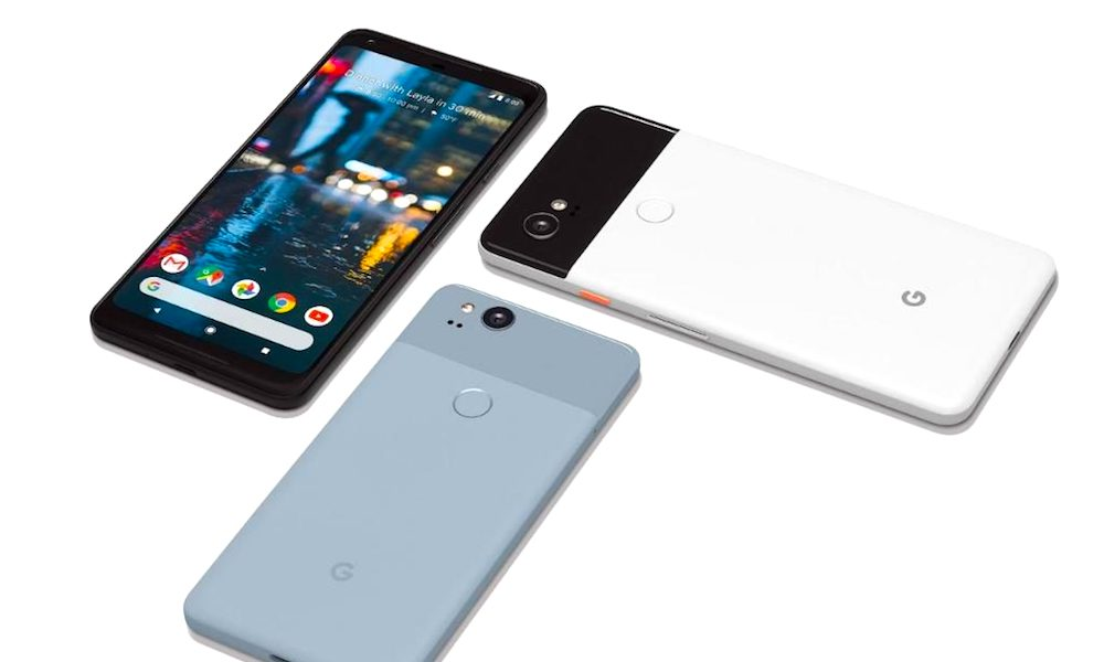 Google Officially Unveils Pixel 2 and Pixel XL