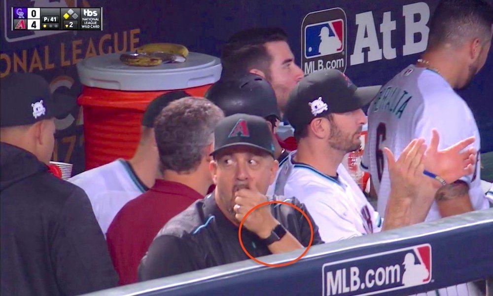 MLB's Arizona Diamondbacks Fined for Wearing an Apple Watch During Game