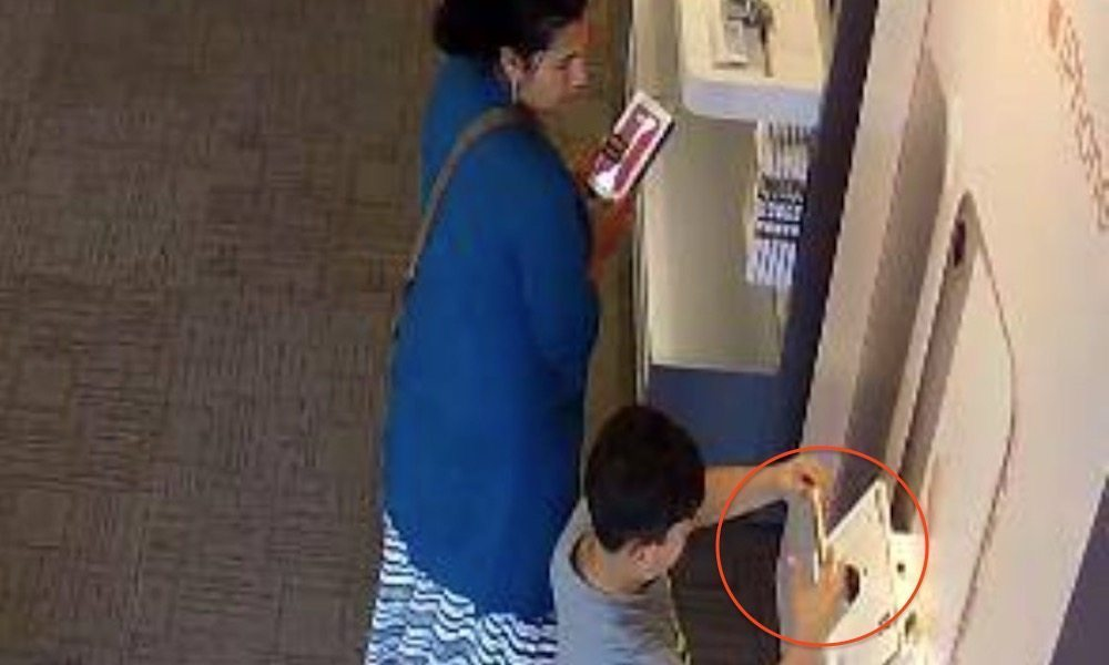 Police Search for Woman Who Let a Boy Steal an iPhone 8 from AT&T