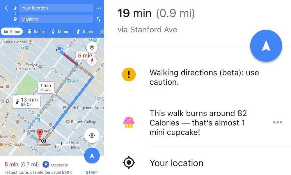 google-maps-cupcake-calorie-counter
