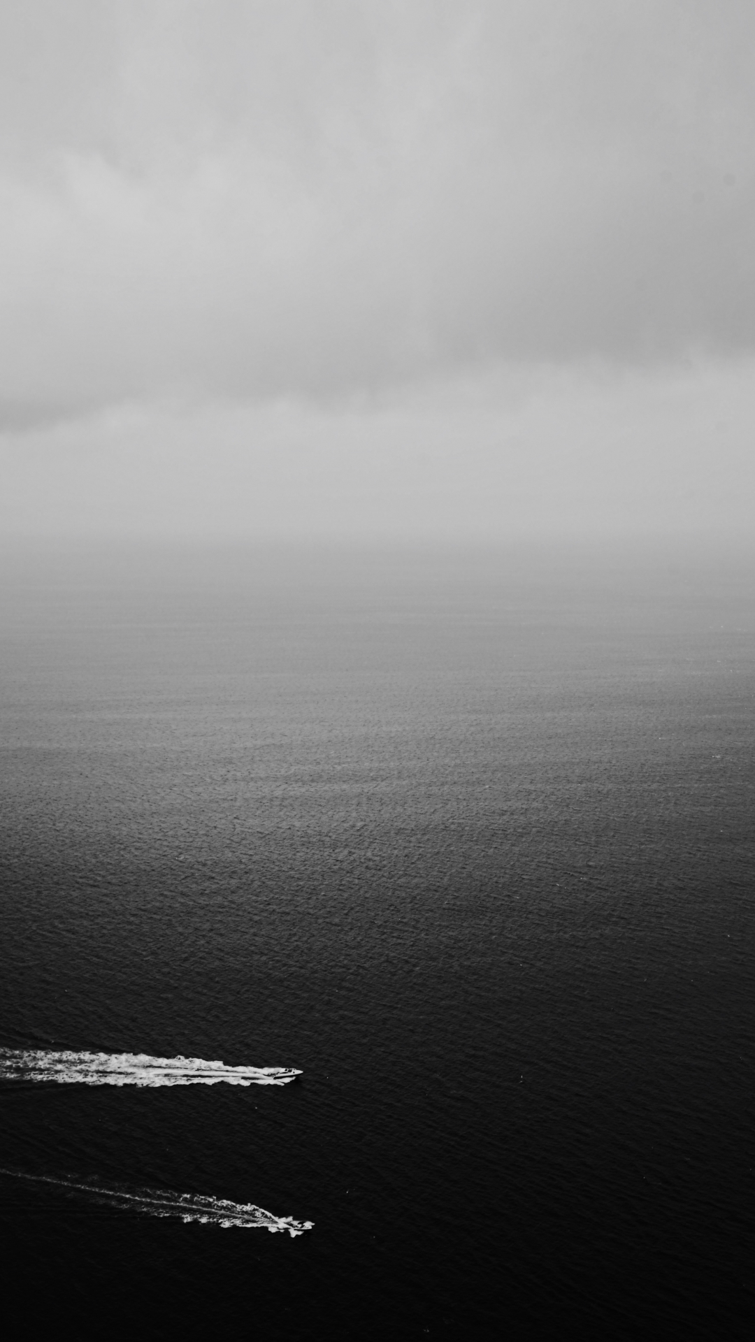Sea, Sky, Cloud And Dark iPhone Wallpaper