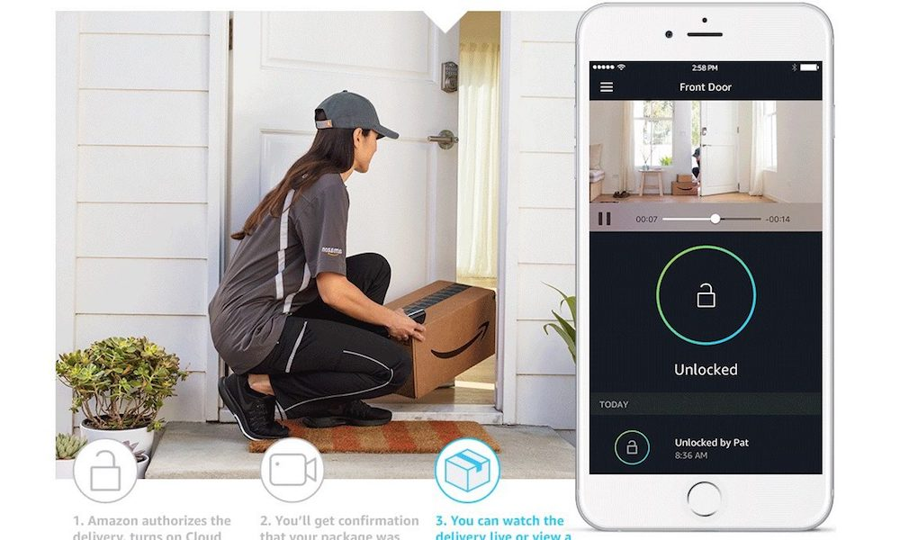 Amazon Key Lets Couriers Drop off Packages Inside Your Home