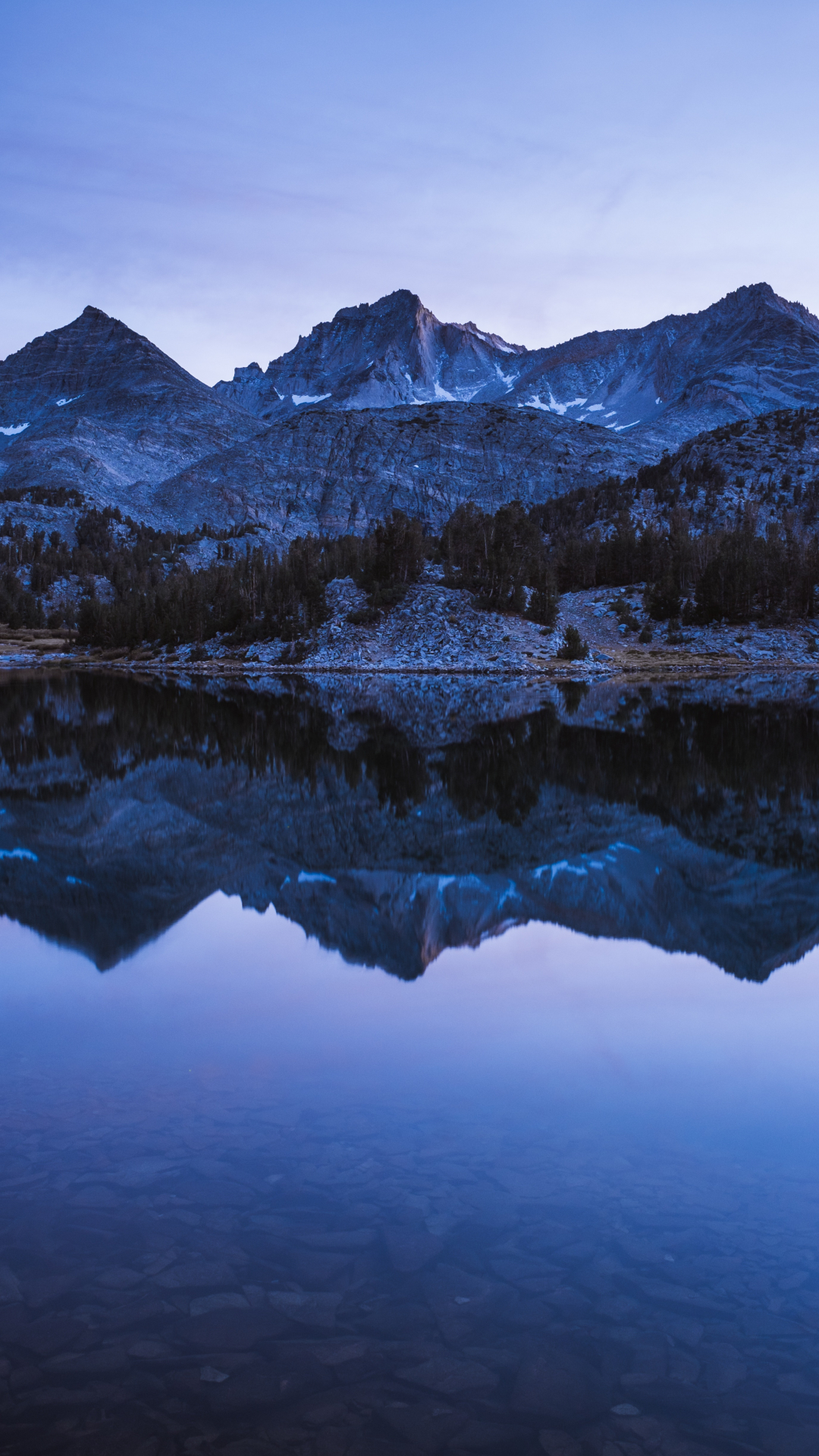 Blue Hour, Sunset iPhone Wallpaper