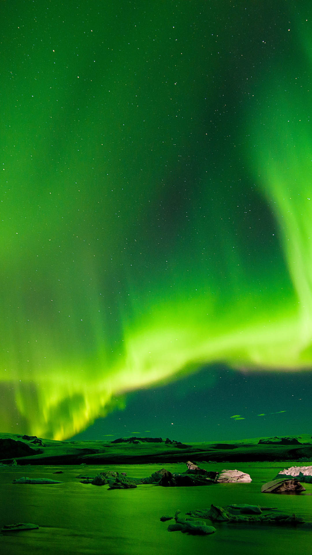 Aurora Boreali, Northern iPhone wallpaper