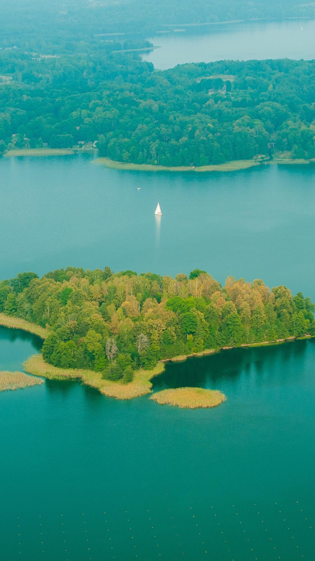 Lake, Majestic iPhone Wallpaper