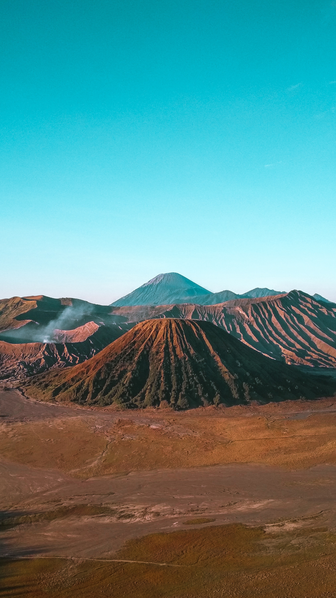 The Greater Bromo iPhone Wallpaper