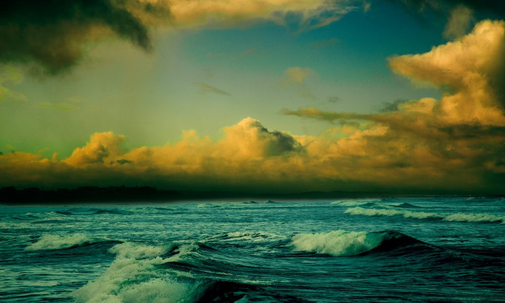 Cloud Ocean Water And Sea Iphone Wallpaper Idrop News