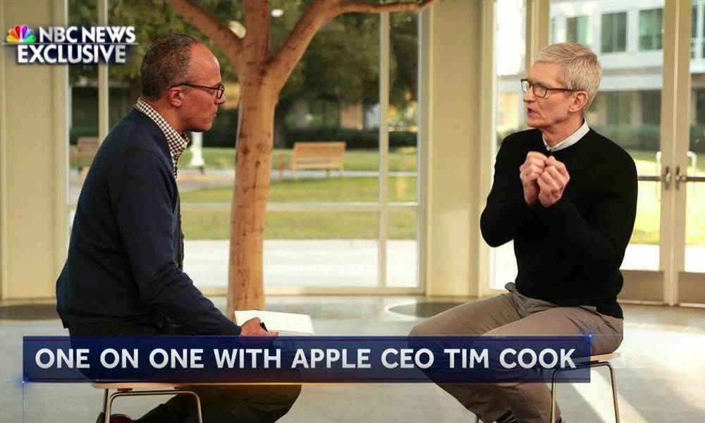 Tim Cook NBC Interview Highlights: Politics, Privacy and Tax Reform