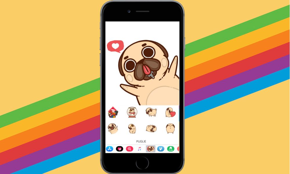 How to Get Pug Emoji for iPhone in iOS 11