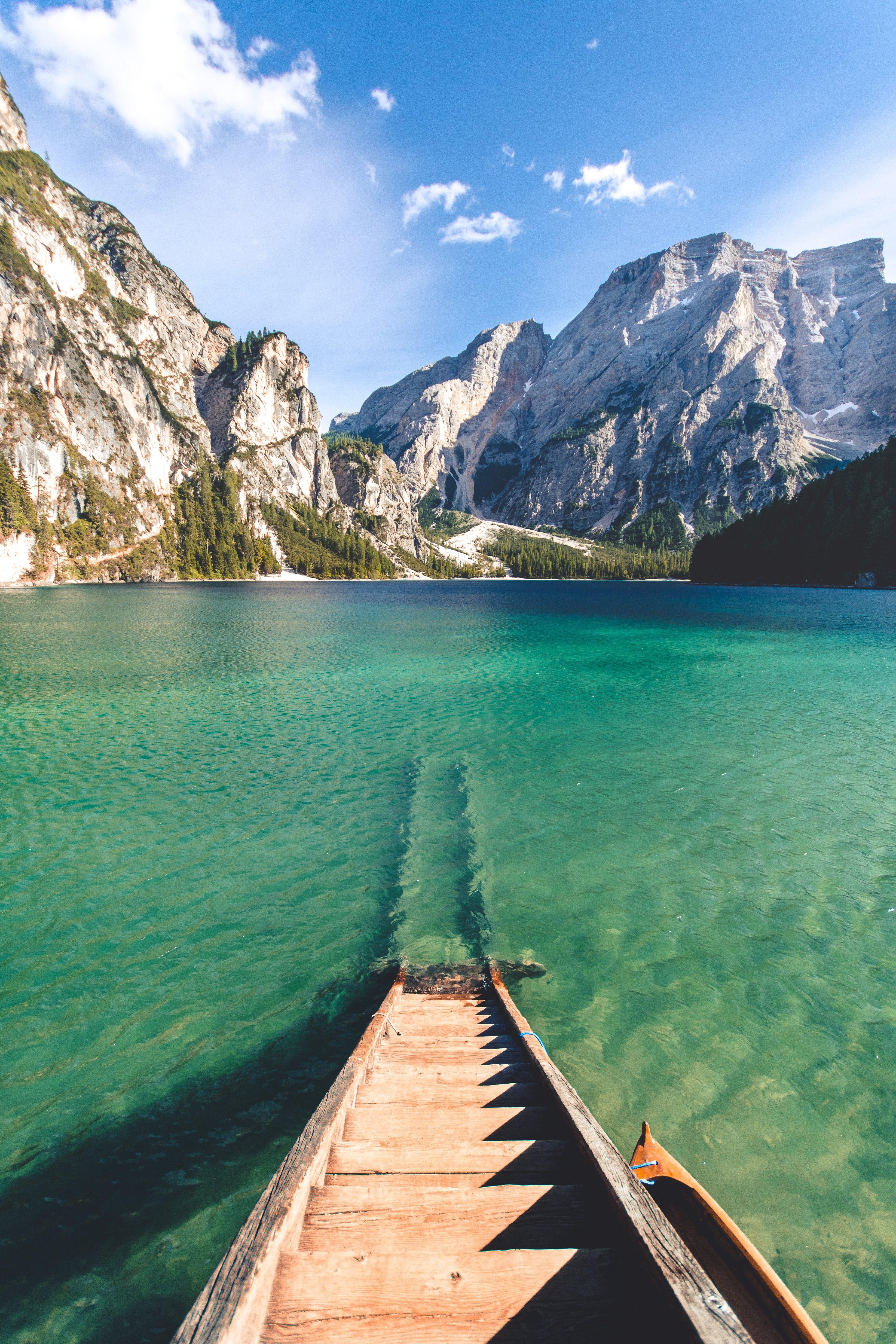 Mountain Lake Sky Iphone Wallpaper Idrop News