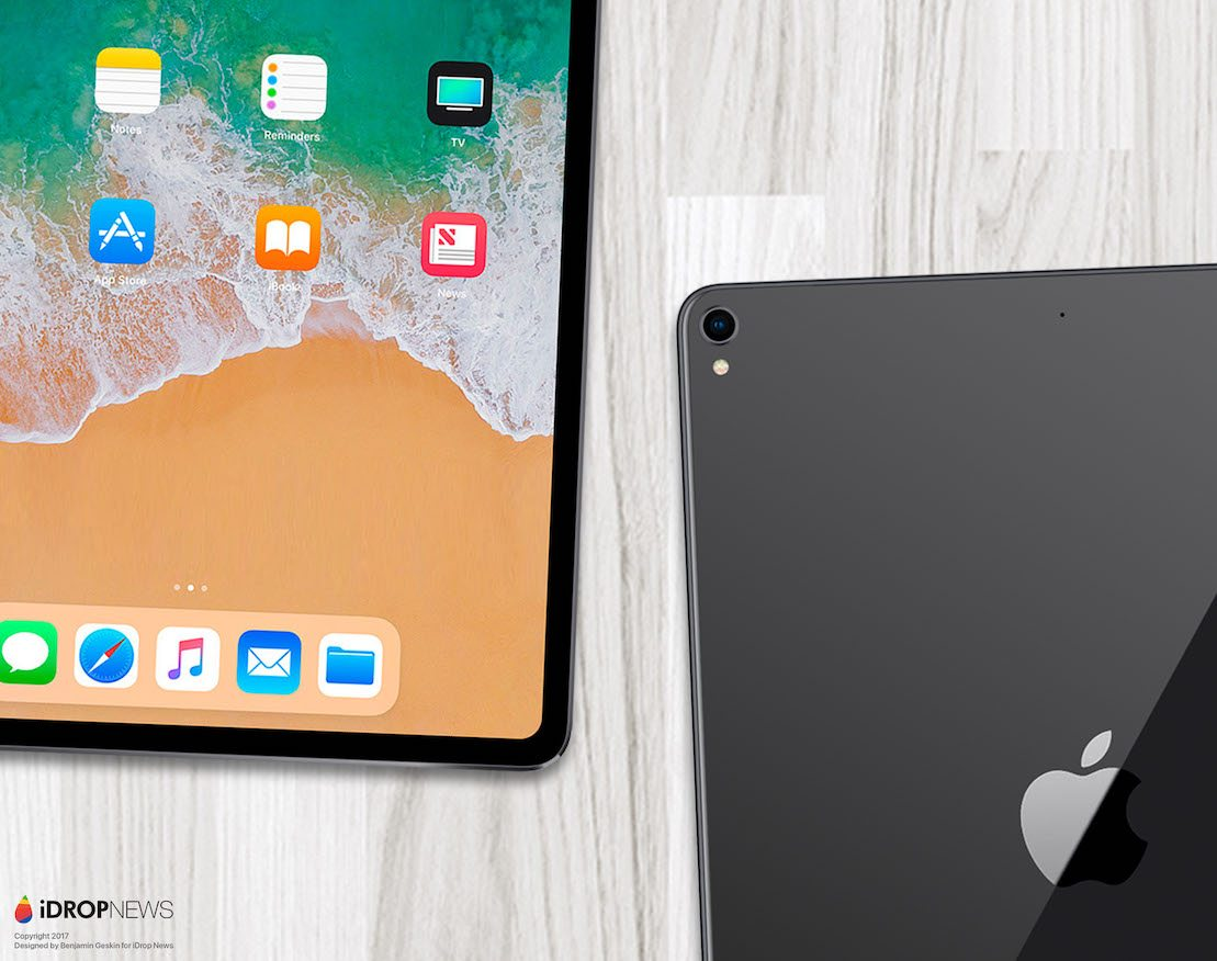 iPad Pro Edge to Edge 2018 iDrop News