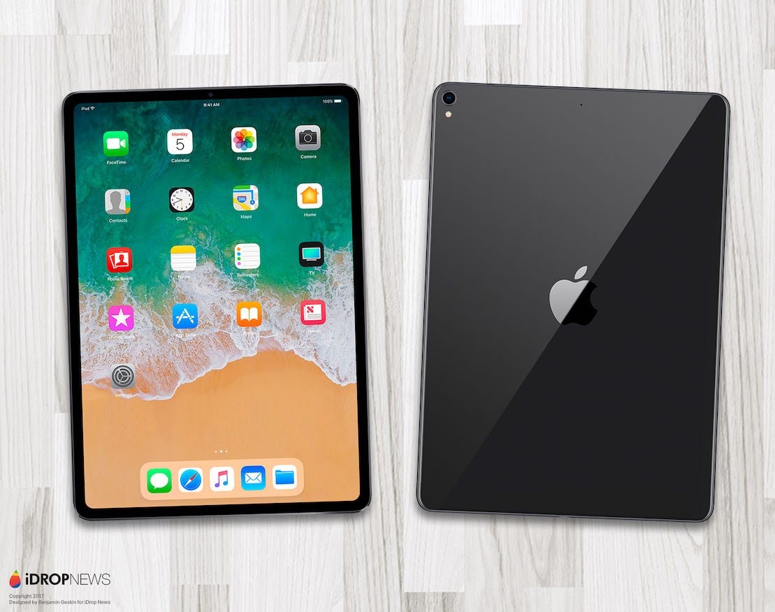 iPad Pro Edge to Edge 2018 iDrop News