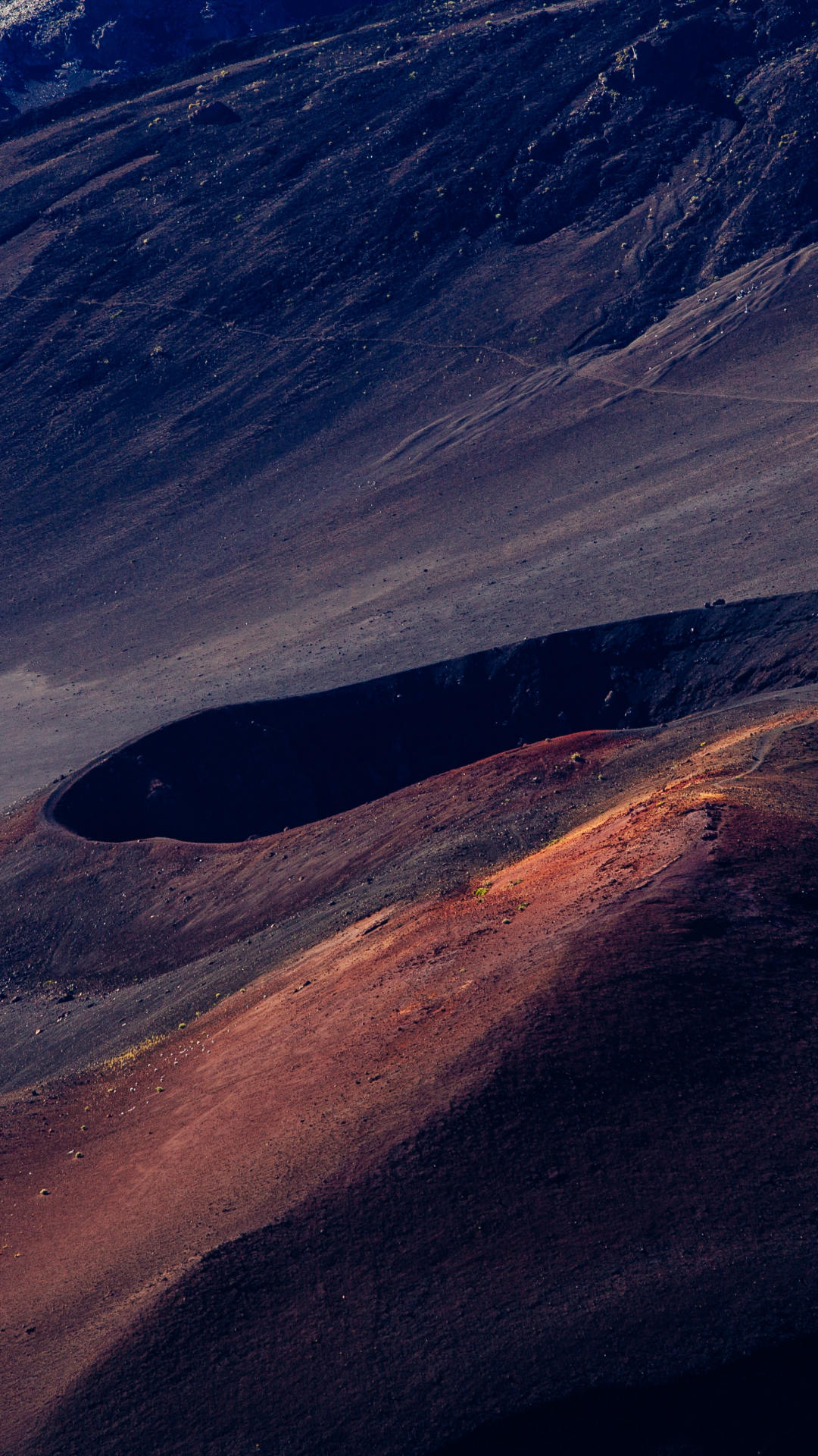 Desert Craters iPhone Wallpaper