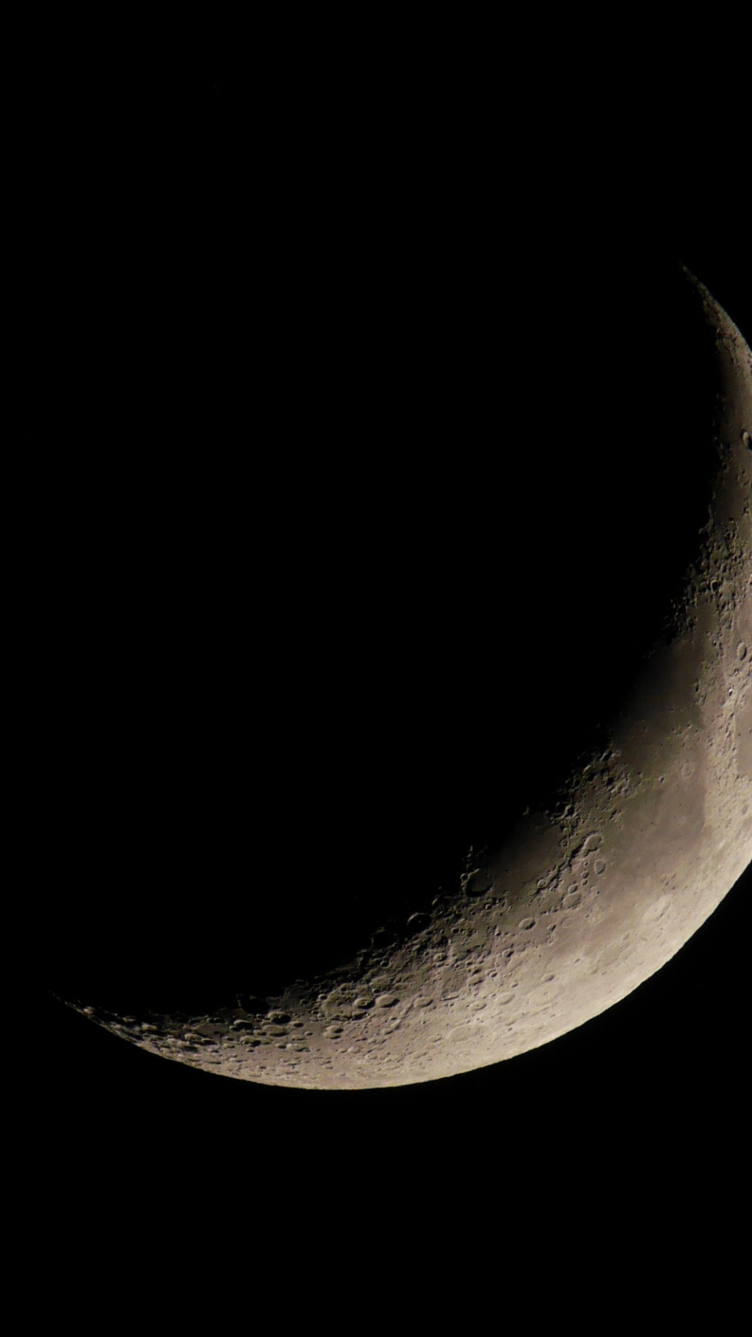Moon, Space, Black iPhone Wallpaper