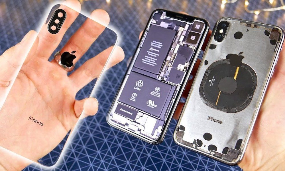 This Insanely Difficult Mod Makes the iPhone X Transparent