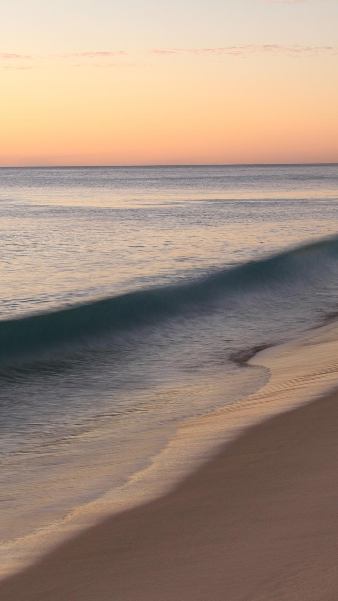 Wavy Ocean iPhone Wallpaper