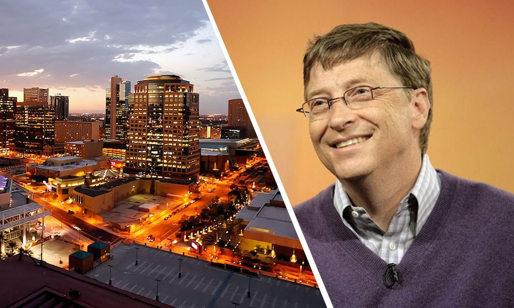 Bill Gates Bought 25,000 Acres Near Phoenix to Build a 'Smart City'