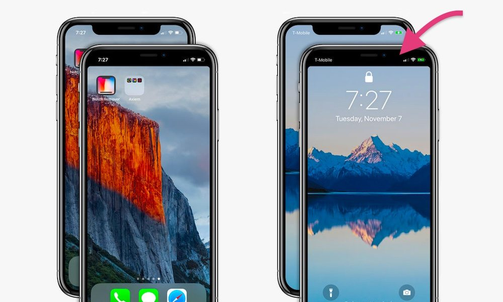 This App Hides the iPhone X's Infamous Sensor Notch