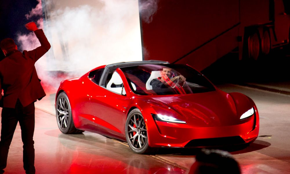 tesla unveils new blazing fast all wheel drive roadster. Black Bedroom Furniture Sets. Home Design Ideas